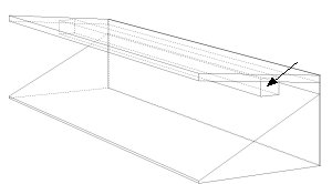 suspended boxes technical drawing