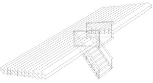 materials steel vomitory drawing
