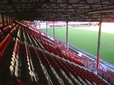 Griffin Park football stand Image