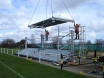 Construction of football stand Thumbnail